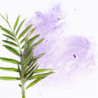 Colorful illustration with floral elements. useful design element. — Stock Photo