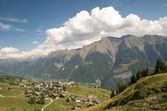 Swiss alpine landschaft — Stockfoto