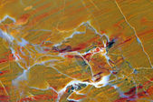 Close-up of the surface of a beautiful polished precious stone — Стоковое фото