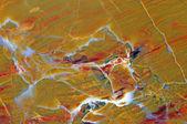 Närbild på ytan av en vacker polerad ädelsten — Stockfoto