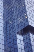 Abstract of contemporary office building in the financial district of london — Stock Photo