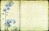цветочный фон и дизайн элемент — Стоковое фото