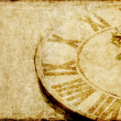 Lovely background image with an antique clock face - Stockfoto