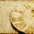 Photo: Lovely background image with an antique clock face