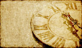 Lovely background image with an antique clock face — Stock Photo