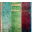 Lovely banners with earthy texture. very useful design elements.  — Stock Photo