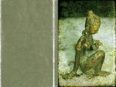 Hintli kız heykeli ile çok güzel arka plan resmi. kullanışlı tasarım öğesi. — Stok fotoğraf