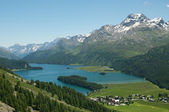 European alpine landscape — Stock Photo