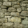 Ancient stone wall - Stock Photo