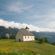 Church in alpine landscape — Stock Photo #9781337
