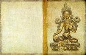 Buddha background — Stock Photo