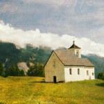 schöne retro-Landschaft — Stockfoto