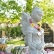Beautiful statue in english cemetery — Foto Stock #9829874