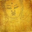 Royalty-Free Stock Photo: Lovely background image with buddha. useful design element.