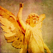 Stock Photo: Cherub background