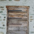 Stock Photo: Door in old house