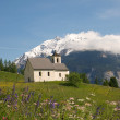 Church in alpine landscape — Stock Photo #9955821