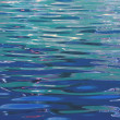 Lovely close-up of a sparkling water surface in a canal in london, england — Stock Photo