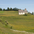 Church in alpine landscape — ストック写真
