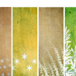Lovely set of banners with interesting textures. useful design elements — Stock Photo