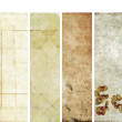 Royalty-Free Stock Photo: Lovely set of banners with earthy textures. useful design elements