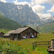 Swiss alpine landscape - Foto Stock