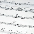 Stock Photo: Music notation