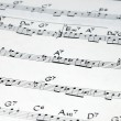 Music notation — Stock Photo #9959523