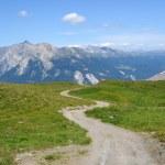 schöne Panorama der Alpen in der Schweiz — Stockfoto