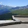 View from the highest monastery and place of pilgrimage in europe — Stock Photo #9959634