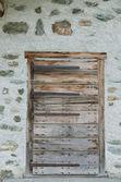 Door in an old house — Stock Photo