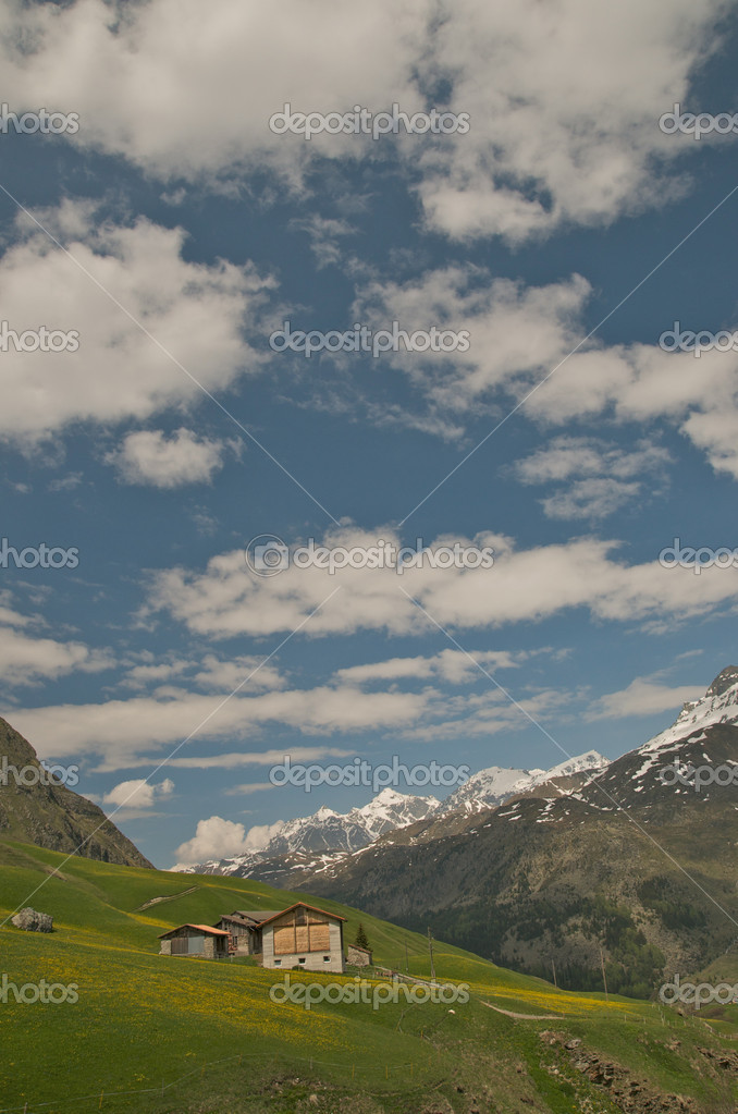 Gorgeous alpine landscape — Stock Photo #9956879