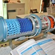 Jet engine model — Stockfoto