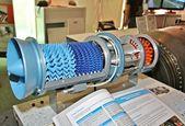 модель реактивного двигателя — Стоковое фото