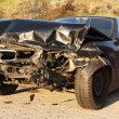 New car damaged in an accident. — Stock Photo #10040995
