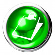 Document Icon Button — Stock Photo