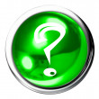 Stock Photo: Question Mark Icon Button
