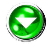 Abajo el icono — Foto de Stock