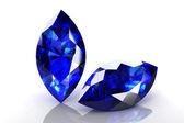 Saphir bleu — Photo
