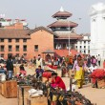 Постер, плакат: Souvenir market in Katmandu