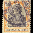 German vintage postage stamp — Stock Photo