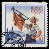 USSR postage stamp — Stock Photo