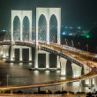 Stock Photo: Macau bridge