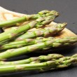 Asparagus in various situations — Stok fotoğraf