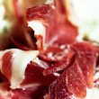 Iberian acorn ham serrano — Stock Photo