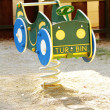Stok fotoğraf: Scene of children's play equipment