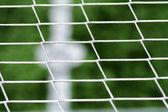 Szczegóły sceny piłka piłka nożna sport — Zdjęcie stockowe