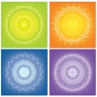 Royalty-Free Stock Imagem Vetorial: Mandalas