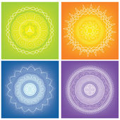 Mandalas — Stock Vector
