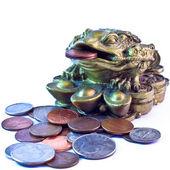 Feng shui para kurbağa — Stok fotoğraf
